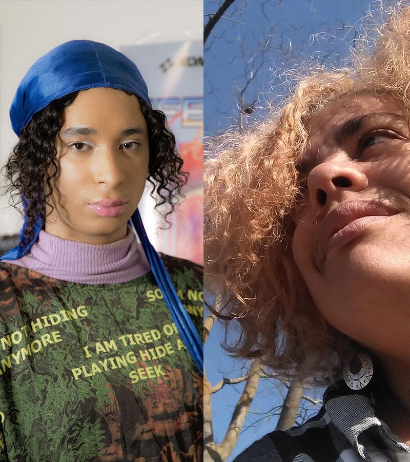 [Description: Danielle Brathewaite-Shirley (left), and Yuderkys Espinosa Miñoso (right).]